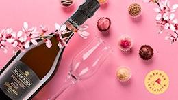 Освежающие розовые пузырьки.